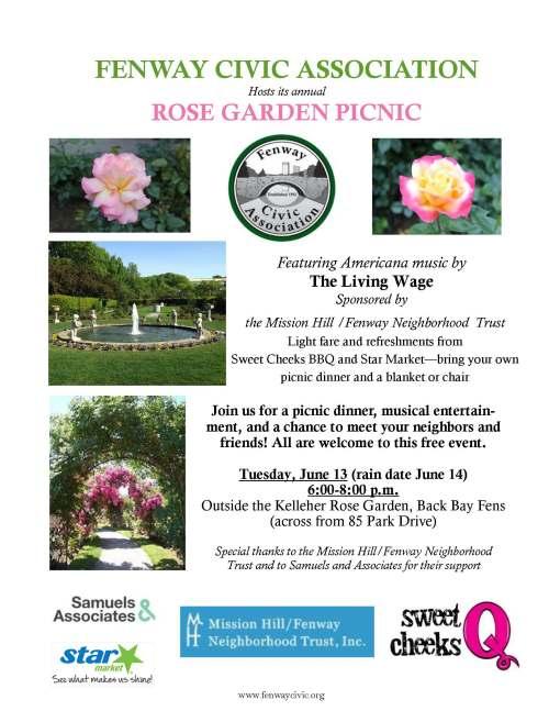 Rose Garden Picnic 2017