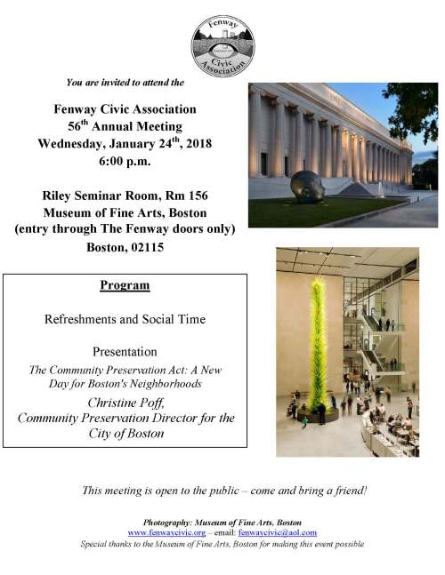 FCA 2018 Annual Meeting flyer