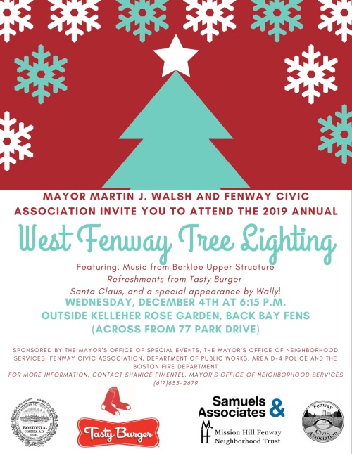 West Fenway Tree Lighting 2019 FINAL